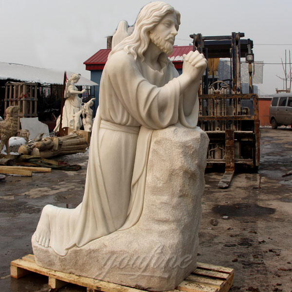 CHS-137 Catholic garden statue of jesus with prayer online sale