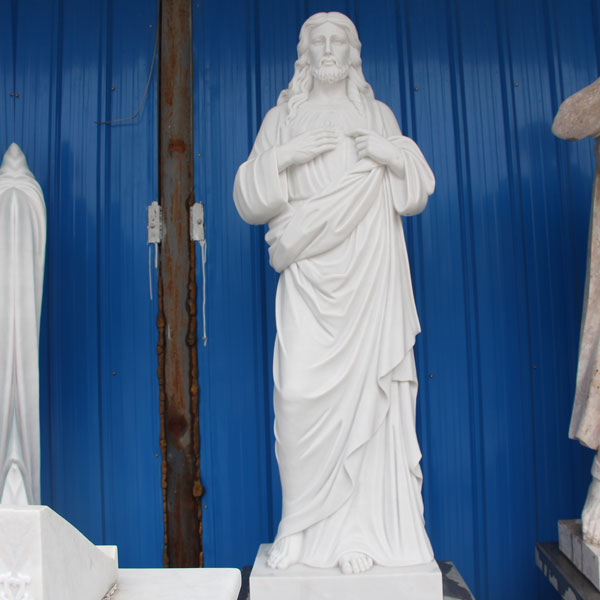 CHS-02 Stone church statue of catholic religious sacred heart Jesus rio pictures