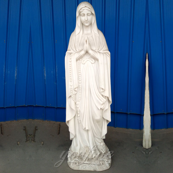 CHS-274 Outdoor blessed our lady of lourdes catholic garden statue online to buy