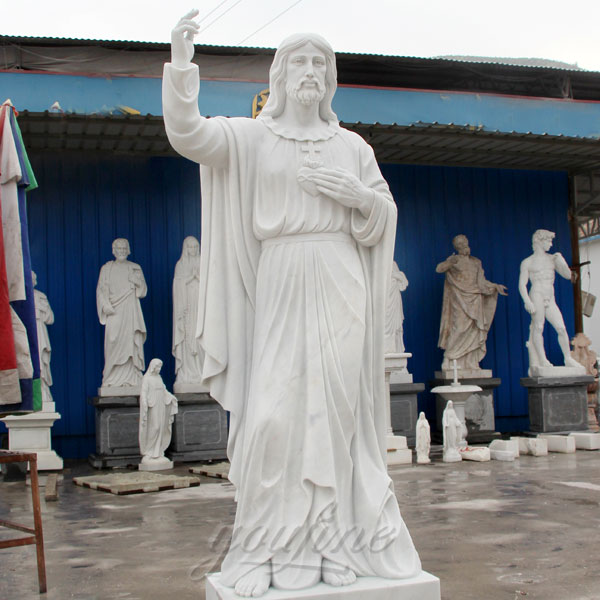 CHS-289 Big garden catholic statues of sacred heart of jesus christ for sale