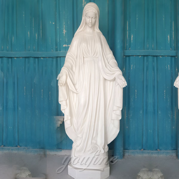 CHS-272 Outdoor garden mary our lady of grace classic white catholic statue 160cm religious