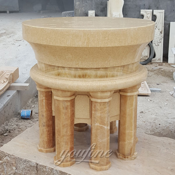 Hand Carved the Church Marble Altars Table for Sale