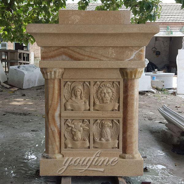 Hot Sale Luxury Marble Catholic Classic Church Pulpit