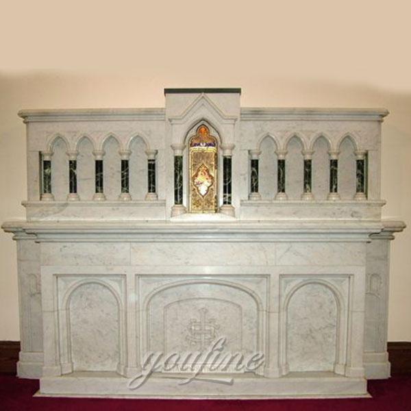 To Buy Catholic Carved Marble Altar Table for Church