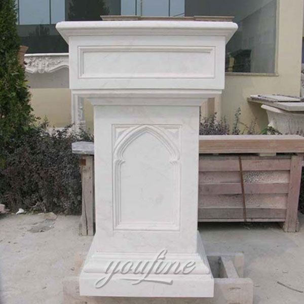 Used Church Furniture Marble Pulpits Stand for Sale