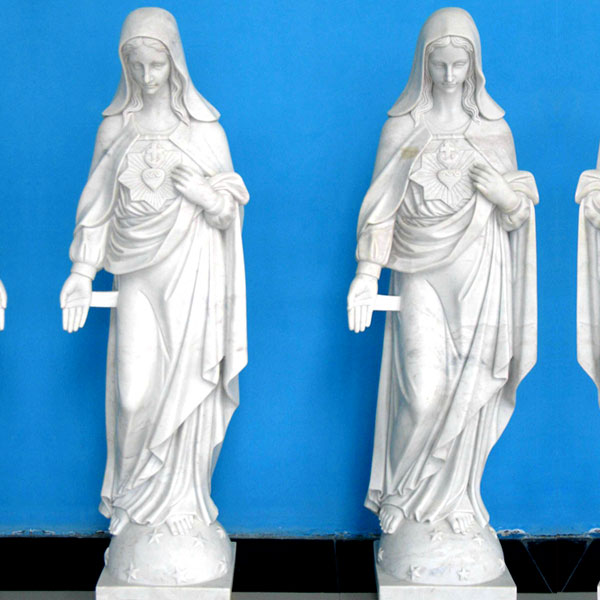 CHS-277 To buy life size sacred heart catholic statues of mary for church decor