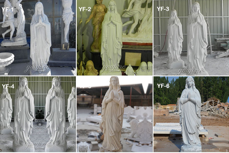 our lay of lourdes statues